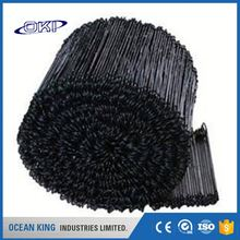 Good strength Copper coated black annealed rebar loop tie wire electric galvanized