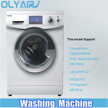 Brand new 7KG front loading washing machine with LED display