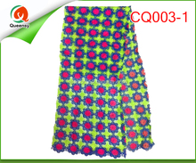 cq003-1 cord lace fabric high quality polyester chemical lace in china alibaba