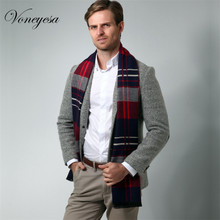 Wholesale mens scarves Winter Warm Wool man Scarves Classic Wens Long Shawl from China