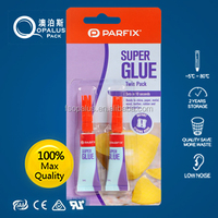Solvent Free Instant power Glue 5g in PE Handy Bottles With Bliser Card
