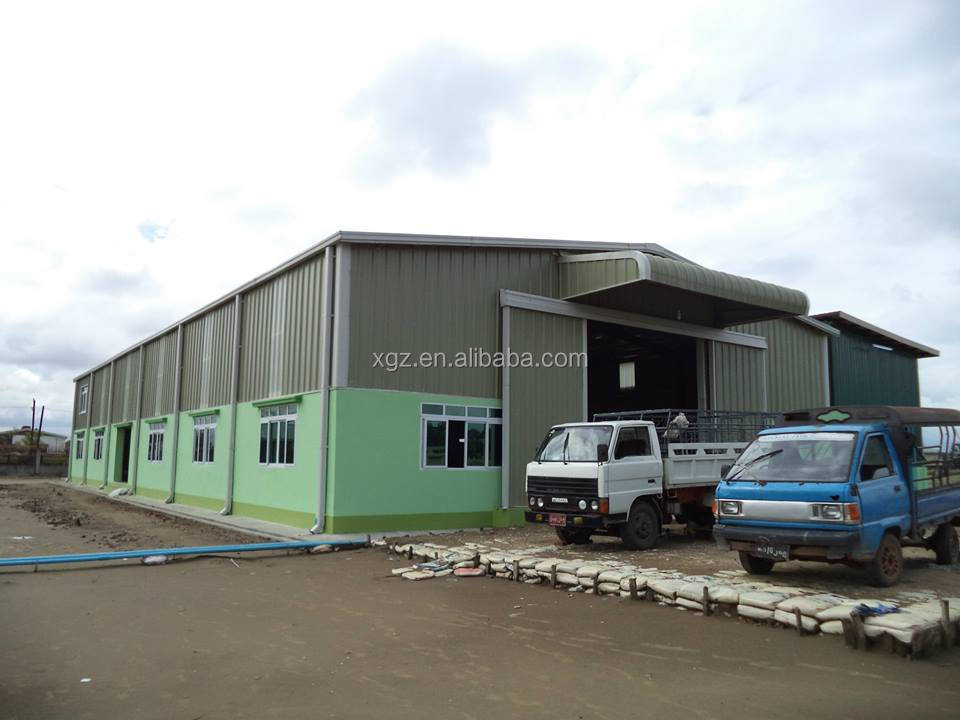 Cheap lightweight prefabricated workshop building for Cheap construction materials