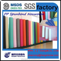 China high quality pp spunbond nonwoven ,colorful PP spunbond nonwoven fabric