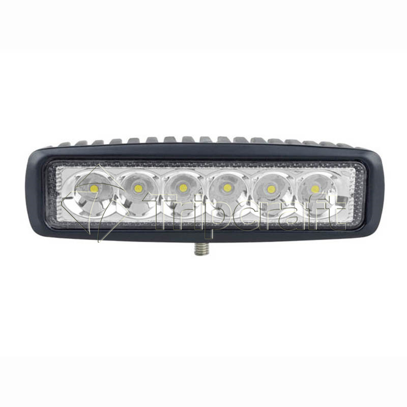 "6"" 18w led work light mini led light bar with CE RoHS IP67"