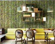 Eco environment vinyl wallpaper China factory new bamboo wallcovering
