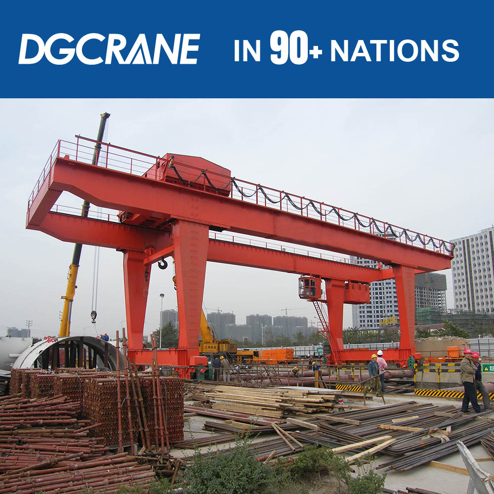Good Condition 20 Ton Travelling Hot Sale Gantry Cranes Price Rmg For Steel Pipe Lifting