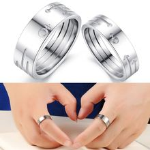 Manufacturer supply hot sale OEM design 316l stainless steel rings with diamond for wholesale GJ429