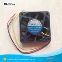 Good Quality 60mm 6015 DC Motor Exhaust Fan Cooling 5V 12V 24V 3Pin 60x60x15mm DC Cooling Fan Manufacture