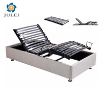new collection 2017 deluxe folding electric adjustable metal slats bed frame DJ-PW42