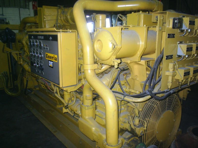 Caterpillar natural gas generator