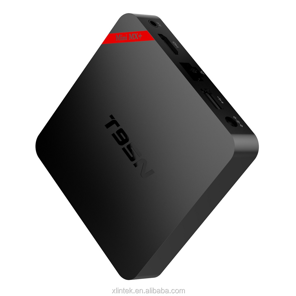 Network android 5.1 smart tv box T95N 4k2k H.265 hardware video decode and 4k2k HD output Tv box Mini MX plus