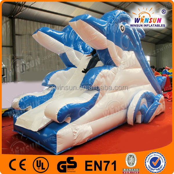 2014 promotion inflatable water slides for rent