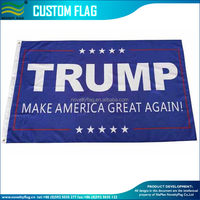 Wholesale price 3*5ft Donald Trump flag 2016 Make America Great Again Flag for President 2016