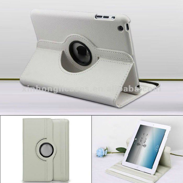 Rotating cover for Ipadmini smart cover for mini ipad ,cases for new mini ipad