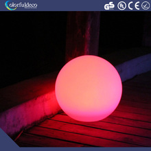 round battery operated colorful color changing solar waterproof garden decorative led moon light light up outdoor light ball