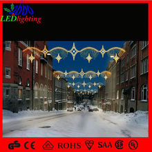 street skylines light hot sale connectable outdoor christmas street light decoration Paper Garland