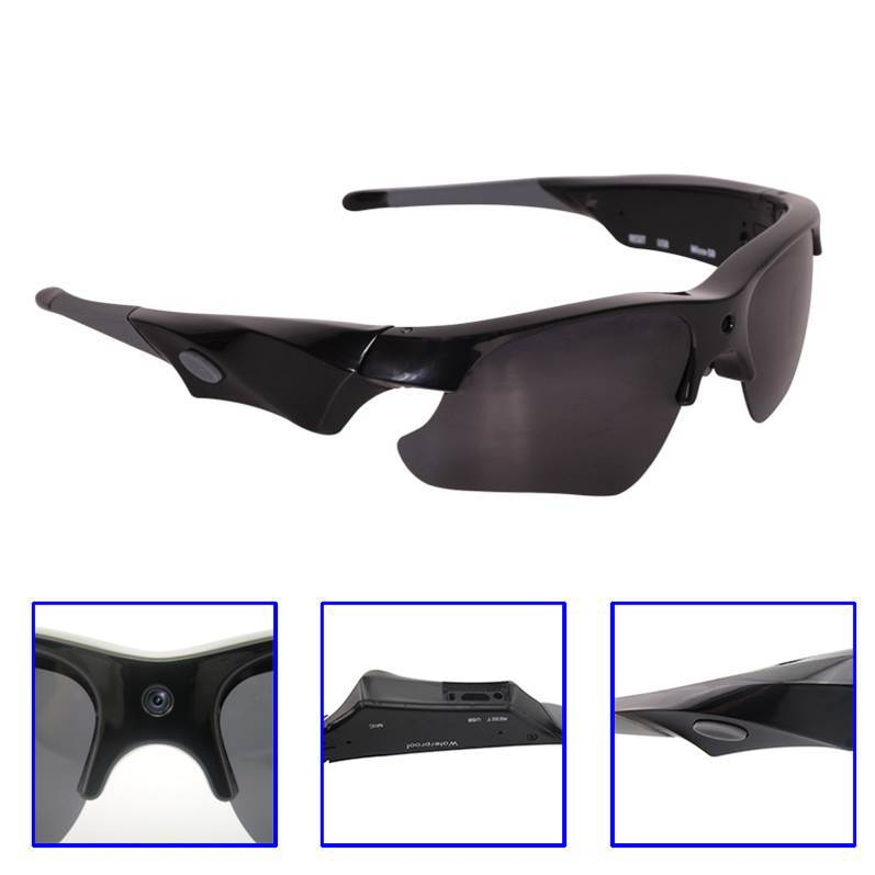 HD <strong>1080P</strong> Sunglasses Camera Manual Video Recording Waterproof Outdoor DVR