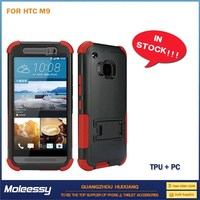 Simple Style leather case for htc m7 m8 m9