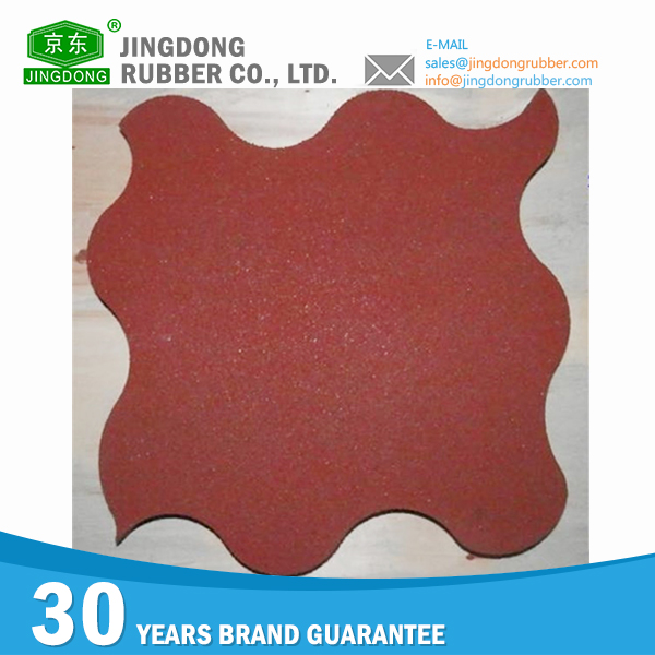 Good peputation factory price boat deck rubber tile