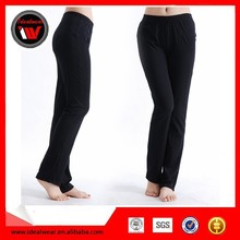Custom nylon spandex kids yoga pants supplies