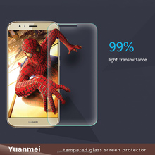 0.3mm 9H Explosion-proof Tempered Glass Screen Protector, Non-full Screen Film for Huawei head 4