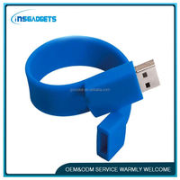Hand band usb flash drive ,H0T255 silicone usb flash key bracelet , usb wristband wholesale