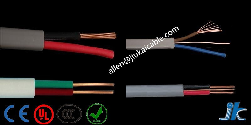 PVC Insulated Tough Plastic Sheathed Wire 4C x 4mm Flat TPS Cable