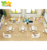 Factory price kids study table and chair set kindergarten children furniture sets