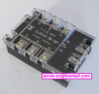 New and original GJH80-W-3P JICHENG 3-PHASE AC SOLID STATE RELAY SSR 80A 4.5-32vDC, 380VAC