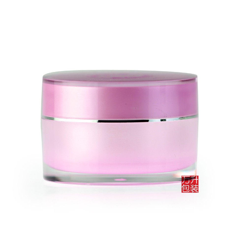 Acrylic Jar Beauty Skin Care Cream Nail Container Cosmetic