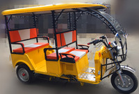 2016 YF newest gasoline-electrical rickshaw with for India with high quality