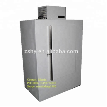 42CuFt Bagged Ice Storage Bin with Direct Cooling System
