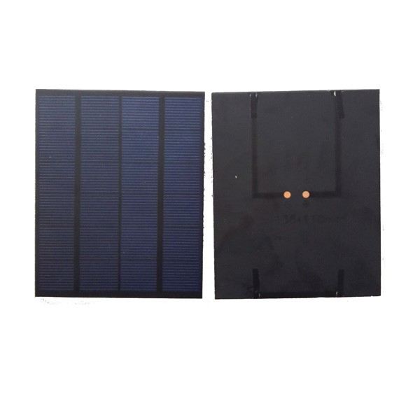 tpt film encapsulation mini solar cells 2w solar panels