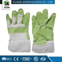Made In China Hand Custom-Made Green PVC Gloves