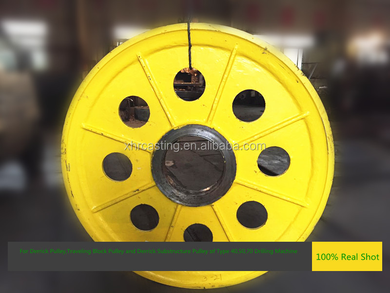 Factory Price cast iron sheave pulley