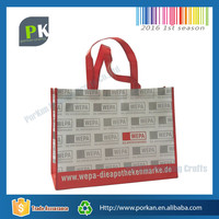 Recycle Foldable PP Laminated Non Woven Tote Shopping Bag