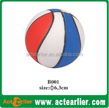 PU foam stress ball basketball