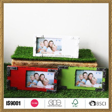 design wood photo frame in beautiful colors