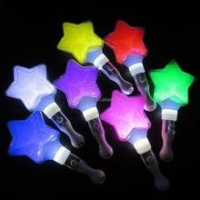 Hot Sale Pentagram LED star wand, concert LED stick , LED stick for cheer