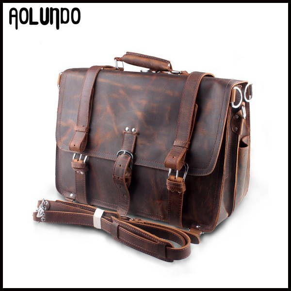 Guangzhou fashion shoulder bag man leather travel messenger bag cowboy bag