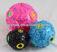Pet toys leaking food ball squeaky ball dog toys,