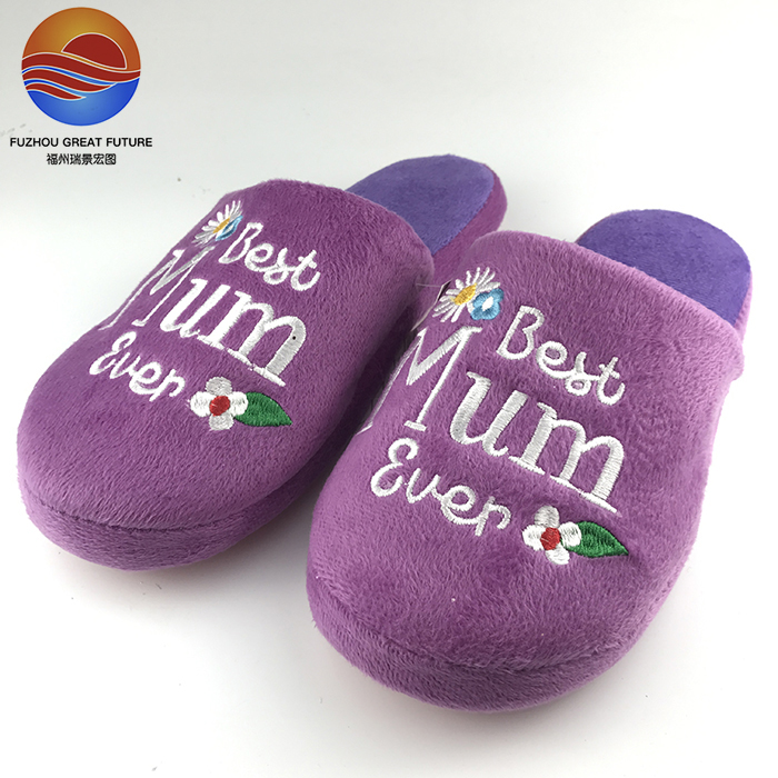 New Season Product Exported to England Indoor Slippers for Mom