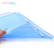For ipad air 2 clear tpu case cover / back cover for ipad air 2 ultra thin case / for ipad air 2 tablet case cover