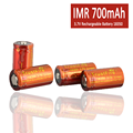 TrustFire 3.7V Rechargeable IMR 18350 Battery 700mAh for Ecigarettes