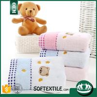 100% cotton yarn dyed hand towel kerchief