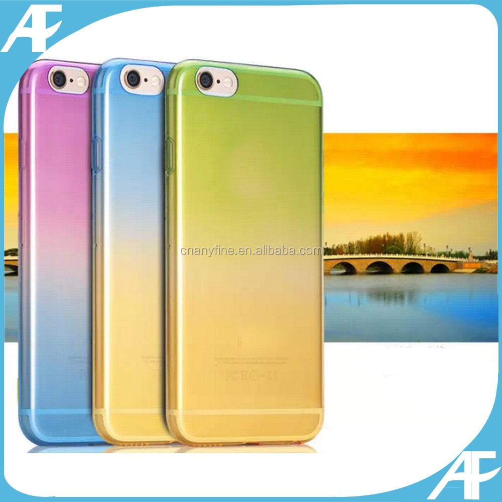Colorful Soft Tpu cover Case for Mobile Phone