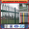 galvanized angel steel palisade fence ( professional factory)