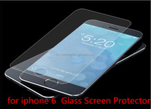 Shenzhen Manufacturer Factory price 0.2mm Full Screen Cover 9H Hardness for apple iPhone 6 tempered glass screen protector