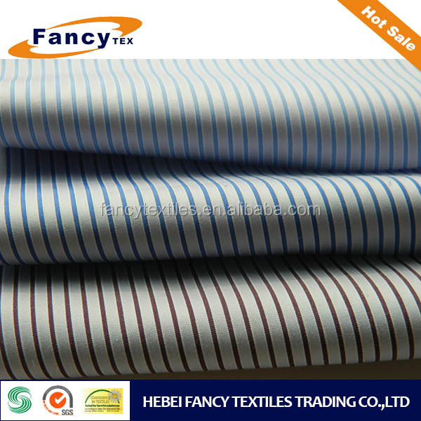 high density 100%cotton yarn dyed fabric 100/2*70 210*90