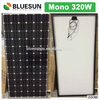 BlueSun 72 cells 320w solar panel Mono 320 watt pv solar panel price per watt